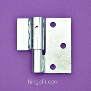 Gate hinge Timber weld RH