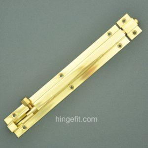 Heavy Duty Barrel Bolt 200mm Brass