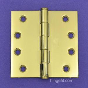 Hinge Butt PVD 100x100x2.5mm