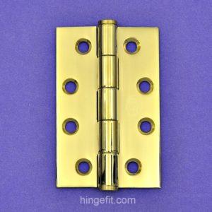 Hinge Butt PVD 100x75x2.5mm