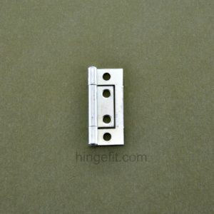 Hinge Non mortice 50mm flat ZP