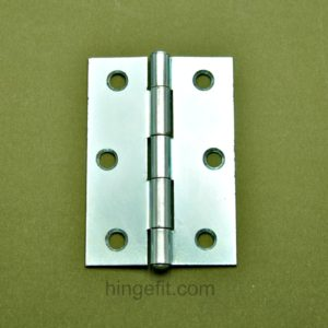 Hinge butt FP zinc 85mm