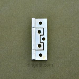 Hinge non Mortice 63mm Flat ZP