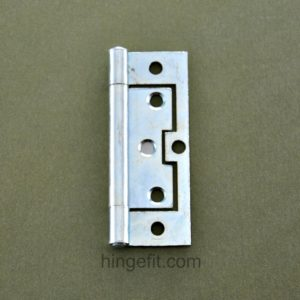 Hinge non mortice 100mm flat ZP