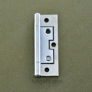 Hinge non mortice 89mm Flat ZP