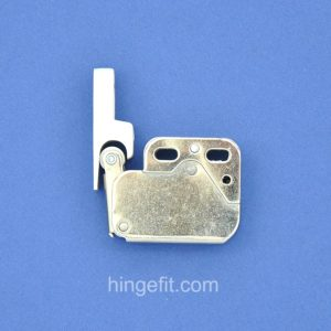 mini latch white closed