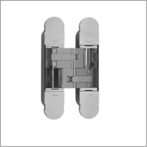 Concealed hinge for doors