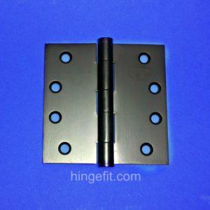 Hinge 100x100x2.5 Black PVD